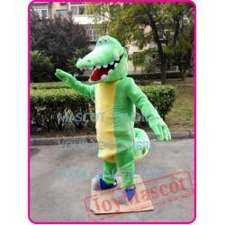 Crocodile Mascot Gator Aligator Mascot Costume