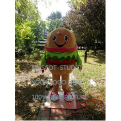 Hamburger Mascot Burger Costume