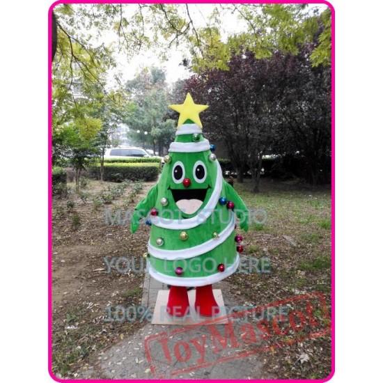 Chrismas Tree Mascot Costume