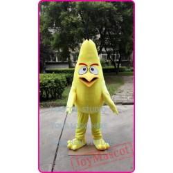 Yellow Bird Mascot Costume