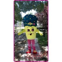 Cupcake Icecream Mascot Costume