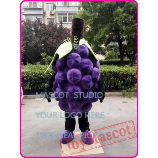 Grape Mascot Costume Fruit