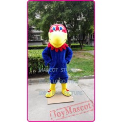 Mascot Blue Hawk Mascot Costuem Eagle Falcon