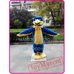 Blue Falcon Mascot Costume Eagle / Hawk Costume