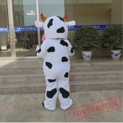 Farm Dairy Cow Mascot Costume Cartoon