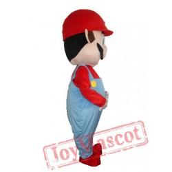 Super Mario And Luigi Mascot Costume