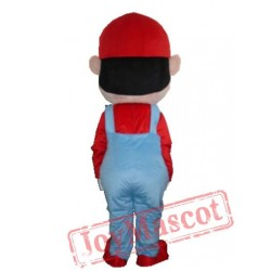 Super Mario And Luigi Mascot Costume