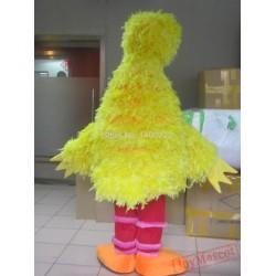 Yellow Big Bird Costume Mascot