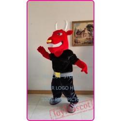 Mascot Muscle Bull Mascot Costume Cosplay Cartoon Anime