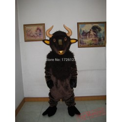 Mascot Bull Mascot Cattle Cow Costume