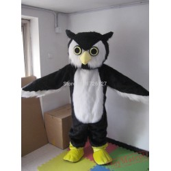 Mascot Plush Owl Hoot Mascot Costume