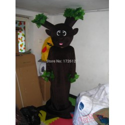 Mascot Green Tree Mascot Costume