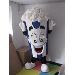 Mascot Super Poppy Popcorn Mascot Costume