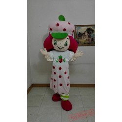 Mascot Strawberry Mascot Costume Anime Cartoon Cosplay