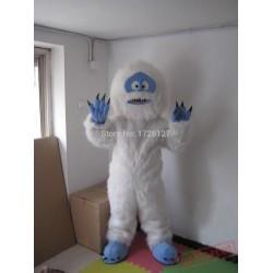 Mascot White Snow Monster Yeti Mascot Costume