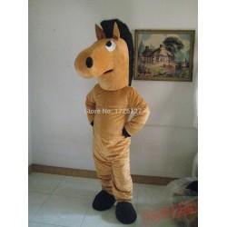 Mascot Brown Horse Mascot Costume