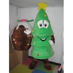 Mascot Christmas Tree Mascot Costume