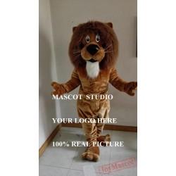 Lion Mascot Simba Leo Costume Cartoon