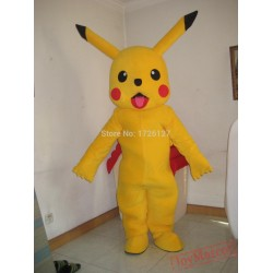 Mascot Pikachu Cartoon Mascot Costume