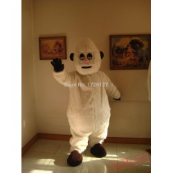 Mascot Snow Monster Yeti Mascot Costume