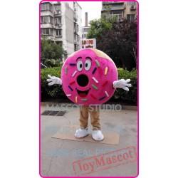 Mascot Donut Mascot Costume Pancake Food