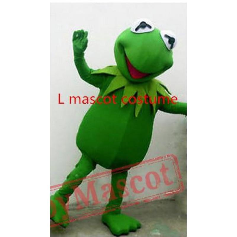 hot sale hot sale kermit frog mascot costume halloween cartoon