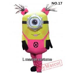 Christmas Edition Minion Mascot Costume