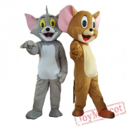Tom & Jerry Mascot