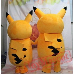 Pikachu Mascot Costume Cartoon Costumes
