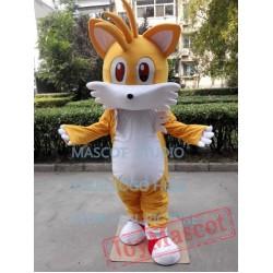 Miles Tail Fox Mascot Costume Sonic The Hedgehog