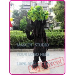 Green Tree Mascot Costume