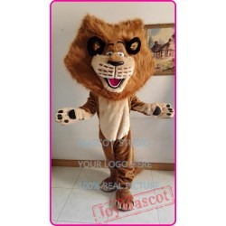 Cartoon Lion Mascot Alex Costume