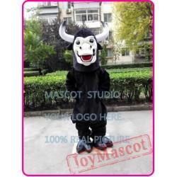 Black Bull Mascot Costume