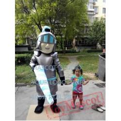 Knight Mascot Lanceer Trojan Costume Cartoon