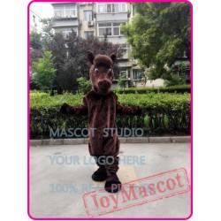 Cartoon Horse Mascot Mustang Costume Stallion