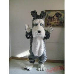 Mascot Plush Terrier Dog Mascot Costume