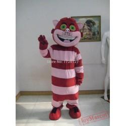 Mascot Alice Cat Mascot Costume