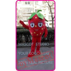 Mascot Strawberry Mascot Fruit Mascot Costume