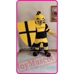 Mascot Knight Lancer Mascot Costume