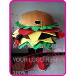 Mascot Hamburger Mascot Burger Costume Mascot Costume