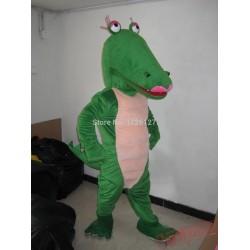 Crocodile The Aligator Mascot Costume