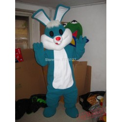 Mascot Easter Green Rabbit Mascot Bunny Costume