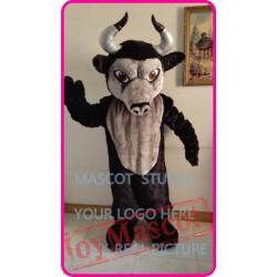 Plush Bull Mascot Costume