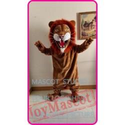 Mascot Plush Lion Mascot Costume