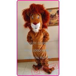Mascot Cartoon Lion Mascot Cotume Anime