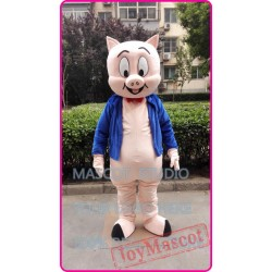 Mascot Cartoon Pig Mascot Costume