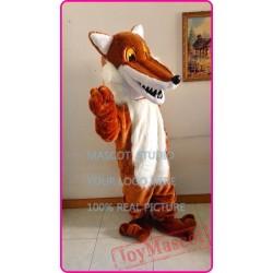 Mascot Red Fox Mascot Costume Cartoon Anime
