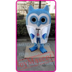 Mascot Cute Cartoon Owl Mascot Costume