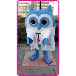 Mascot Cute Cartoon Owl Mascot Costume
