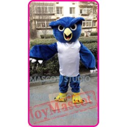 Mascot Plush Blue Owl Mascot Costume